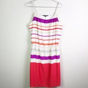 GIANNI BINI Striped Dress With Rope/Braided Straps